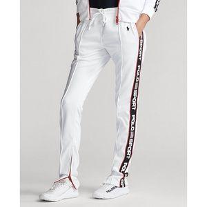 New Polo Ralph Lauren logo-striped track pants